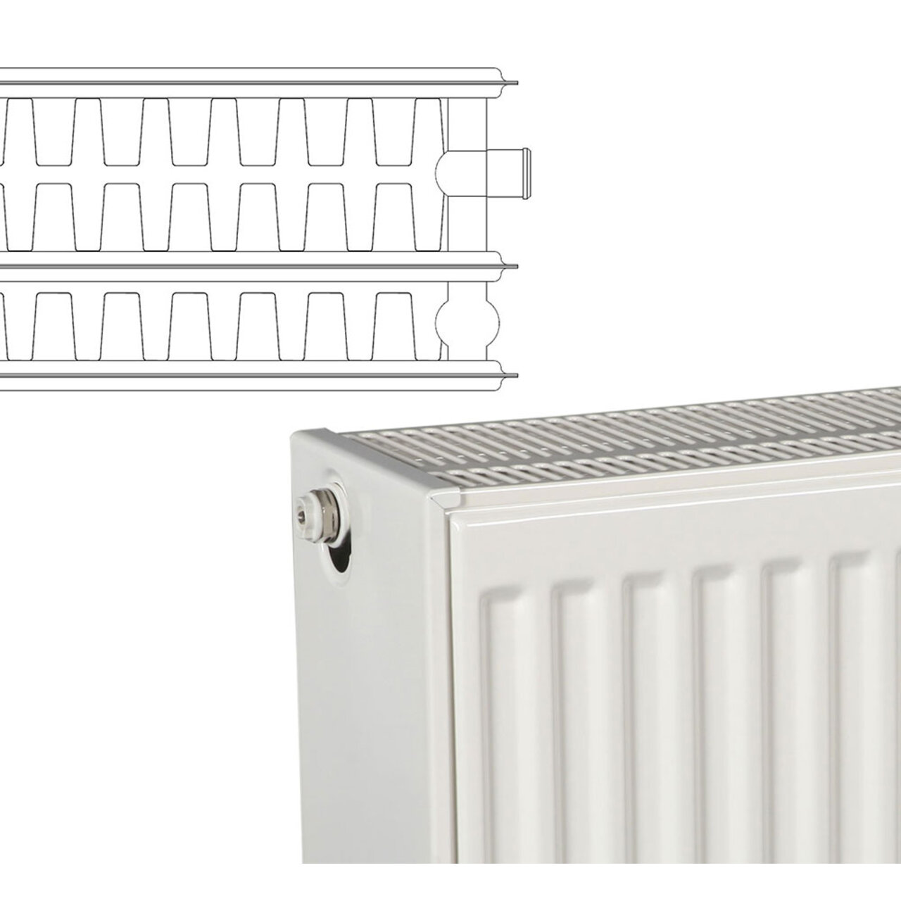 панелен радиатор